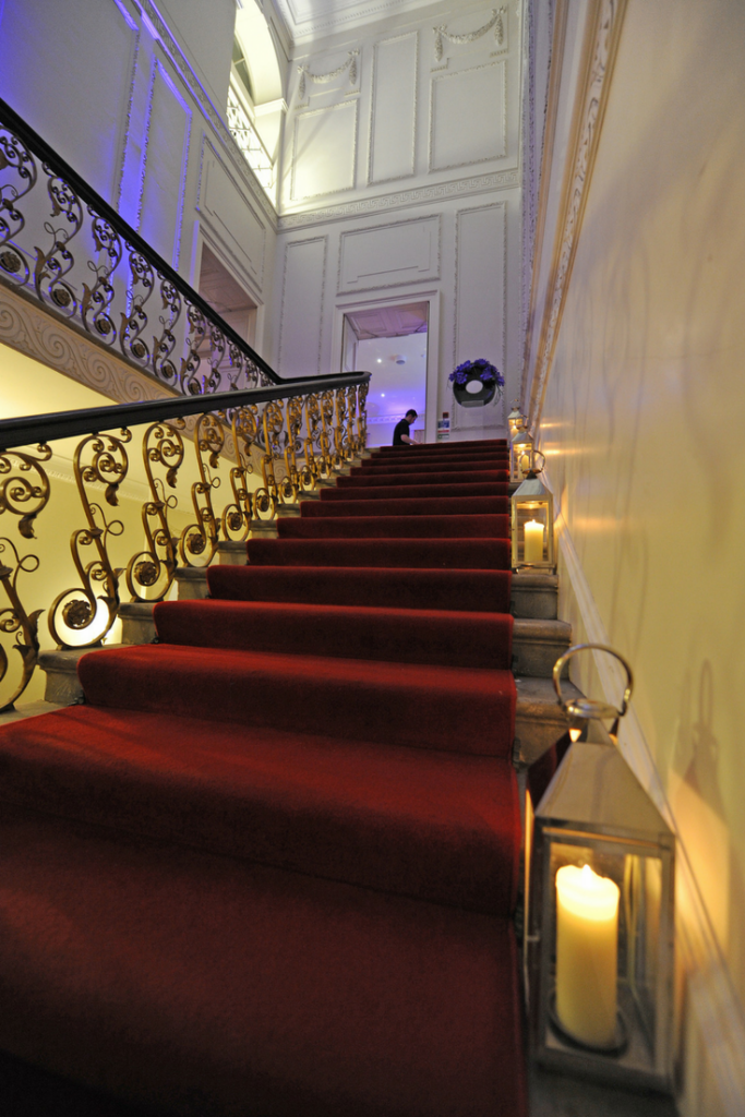 Grand Staircase at Kent House Knightsbridge